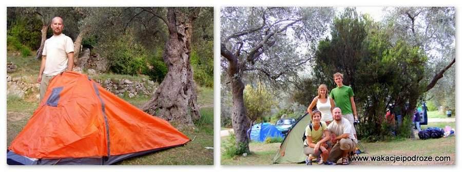 Campingi w Czarnogórze - Crvena Glavica