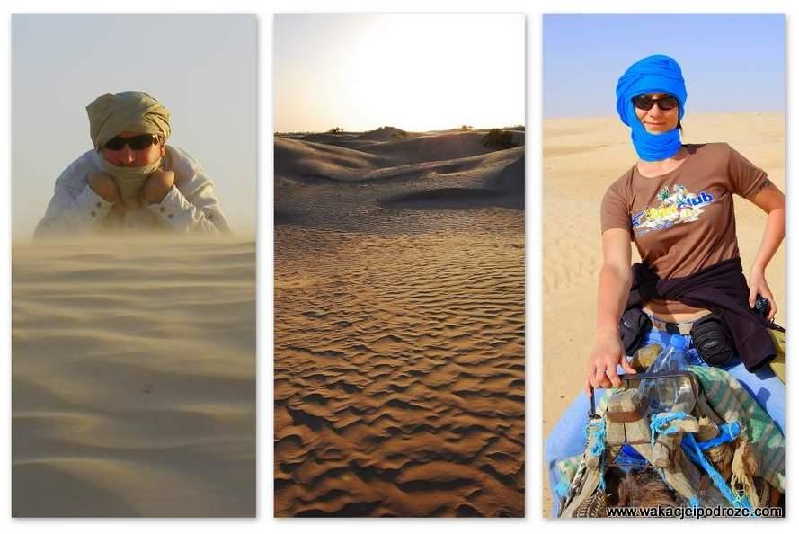Wycieczka na pustynię - Tunezja