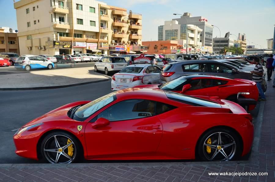 Takie samochody jeżdżą po ulicach Dubaju