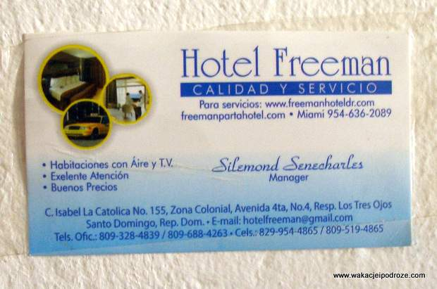 Hotel Freeman Santo Domingo