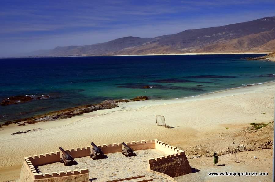 Mirbat plaże