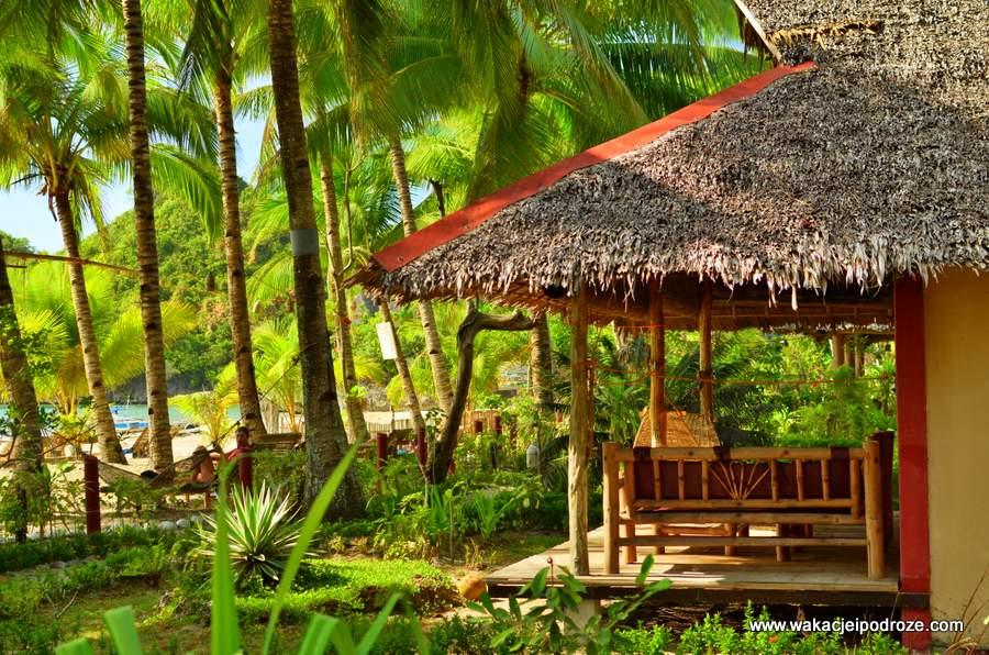 Filipiny - domek na plaży