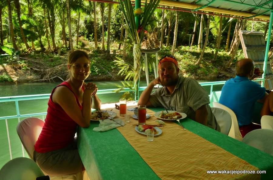 Obiad na floating restaurant