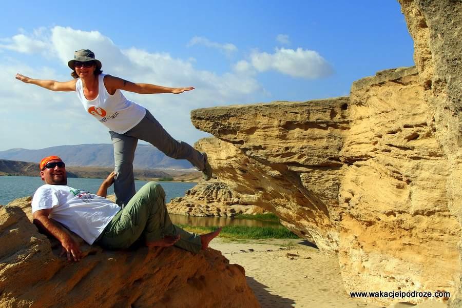 Oman z plecakiem