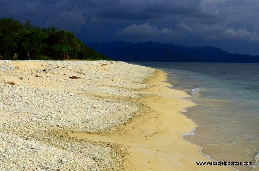 Plaże na Gili Meno