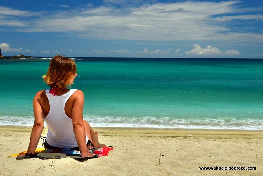 Plaże w Indonezji - Kuta Lombok