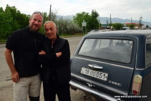 Autostop w Armenii działa wyśmienicie