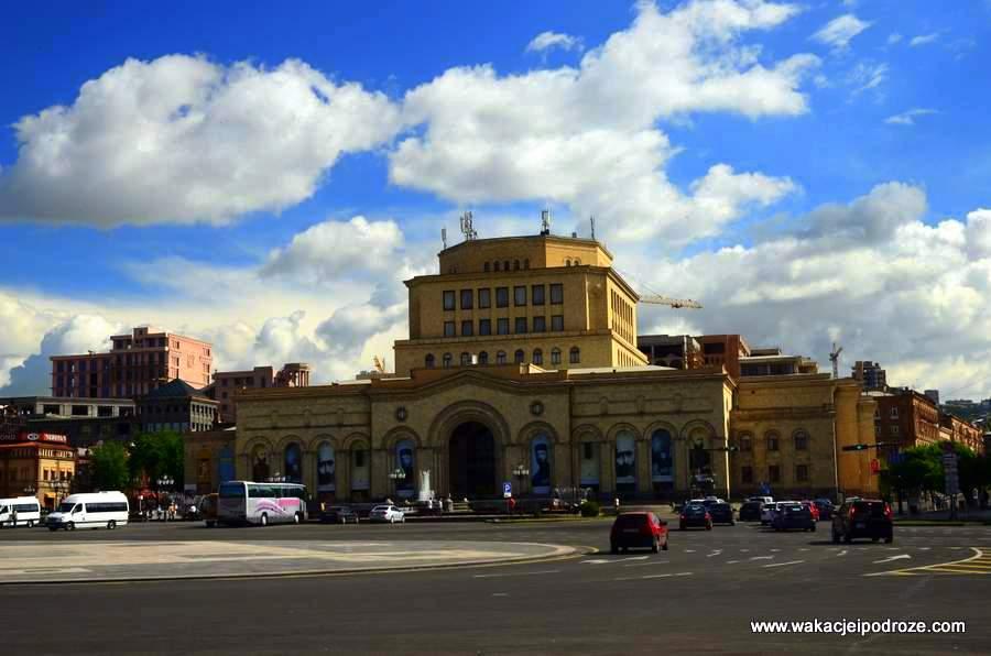 Plac Republiki w Erywaniu