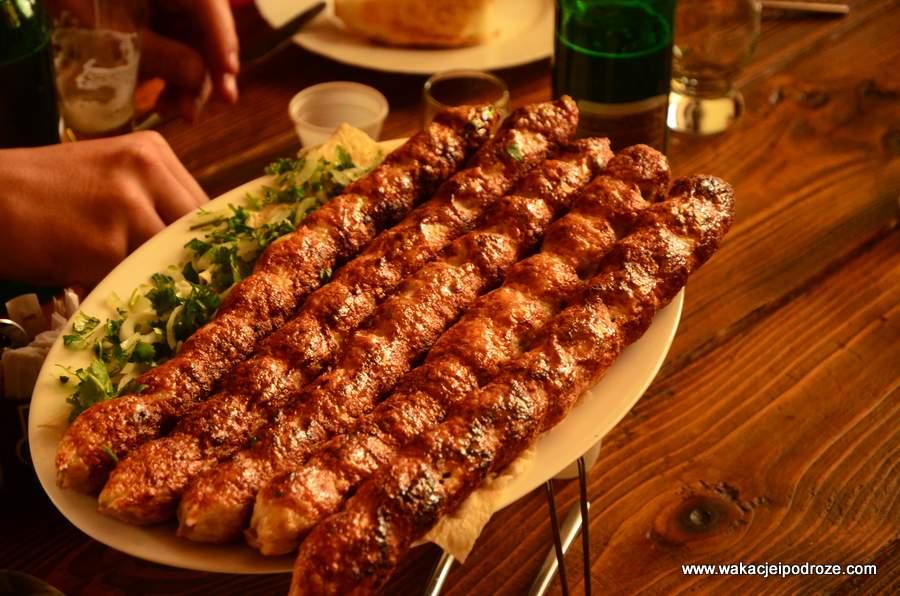 Kebab z raków