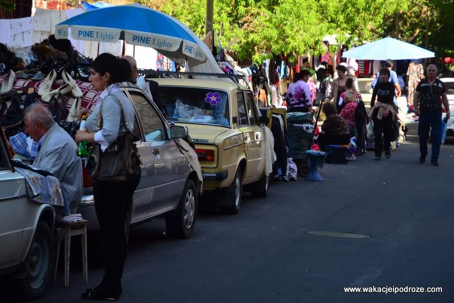 Targowisko w Erywaniu