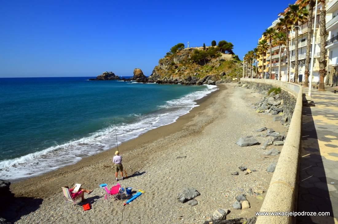 Plaże w Almunecar