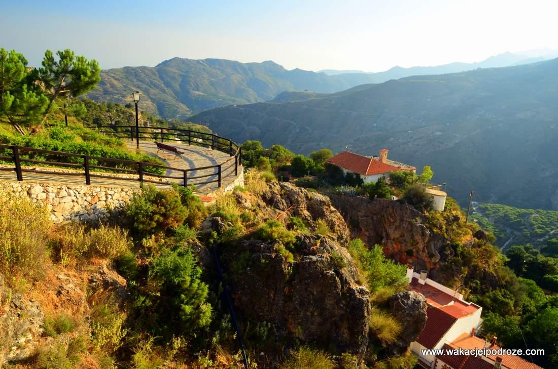Białe miasteczka Andaluzjii - Lentegi