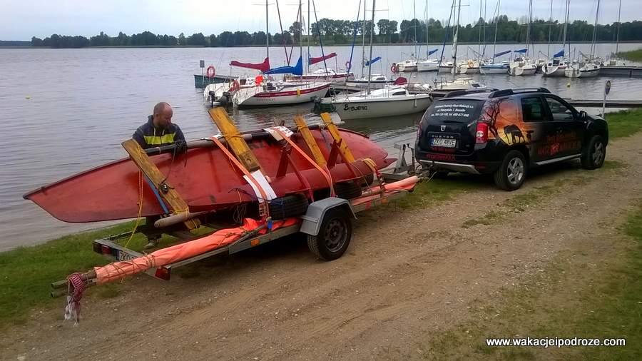 Mazury we wrześniu - jezioro Święcajty