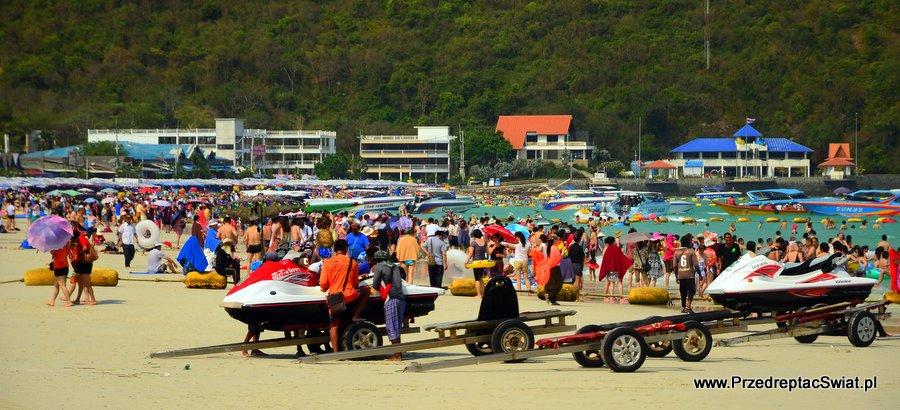 Pattaya - plaże Koh Larn